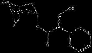 molecular structure of atropine